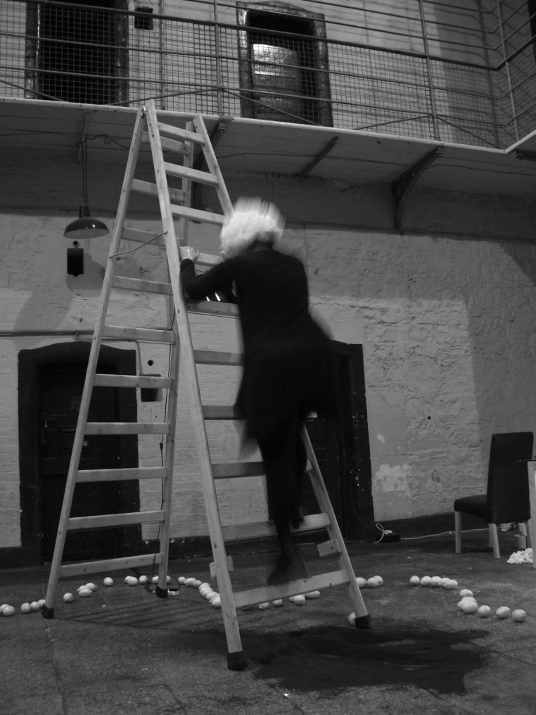 Performance Art Kilmainham Dublin 2010 (Photo by James Moore)