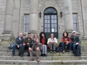 Group photo at the Pearse Museum