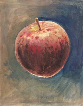 Forbidden Fruits by James Moore after the real apple in Blighted by Kenning